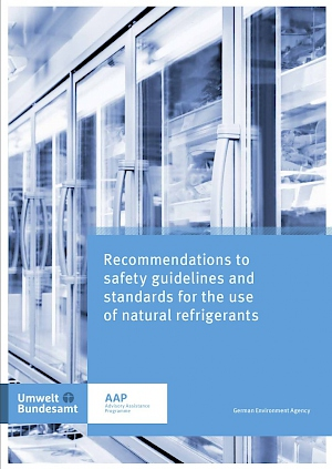 Cover Recommendations to safety guidelines and standards for the use of natural refrigerants, 2017