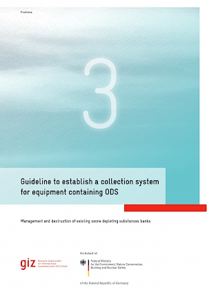 Cover Guideline to establish a collection system  for equipment containing ODS