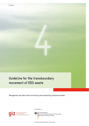 Cover Guideline for the transboundary movement of ODS waste